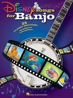 Disney Songs For Banjo Sheet Music Banjo Book 000701901