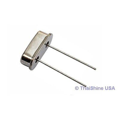 FREE SHIPPING 5 x 5.000 MHz 5 MHz Crystal HC-49//S Low Profile