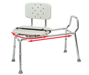 Eagle Healthcare 77662 Swivel Seat Sliding Bath Transfer