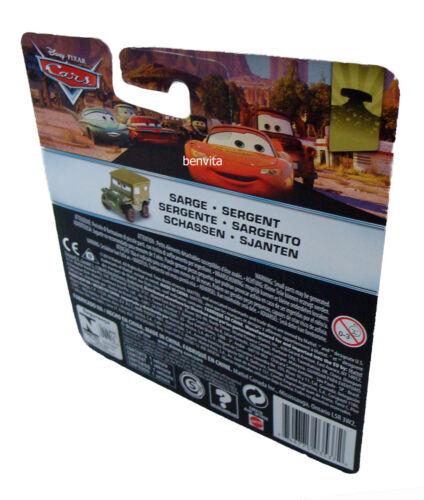 Sarge 6 cm lang Mattel 3+ Neu Cars Radiator Springs 14/19