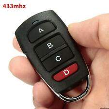 Universal 4 Buttons Cloning 433mhz Electric Garage Door Remote Control Key Fob