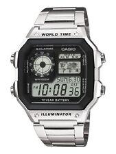 CASIO AE1200WHD-1Avef AE1200WHD-1Av AE1200WHD-1A *CERTIFICADO + GARANTÍA 2 AÑOS