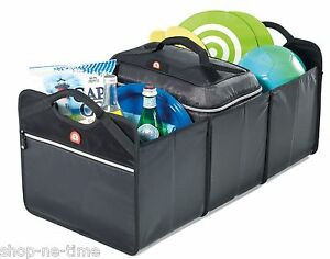 Igloo Collapsible Sturdy Cargo Box with Removable 36 Can Cooler Bag - New