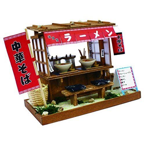 Billy Ramen Food Cart 1/12 Doll House Model Kit Miniature From Japan