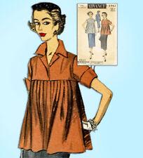 53267d7a 1950s Vintage Advance Sewing Pattern 6462 Uncut Misses Maternity Suit Sz 34  Bust