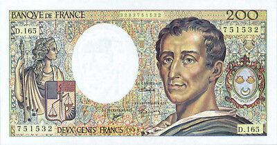2019 Nieuwste Ontwerp France P-155f 200 Francs 1994 Unc