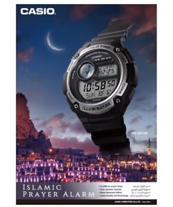 Casio-Watch-CPA100-1AV-Islam-Hijri-Calendar-Prayer-Alarm-Black-Resin