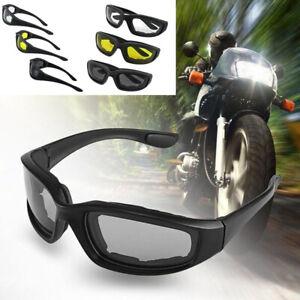 Lunettes-d-039-equitation-moto-resistant-au-vent-rembourre-confortable-coupe-vent