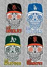 MLB Sugar Skull Stickers/Decals