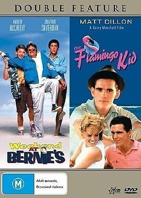 1 of 1 - Weekend At Bernie's / Flamingo Kid (DVD, Region 4) - Brand New, Sealed