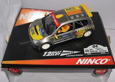 Elektrisches Spielzeug Ninco 50353 Renault Clio Catalunya Costa Brava 2004 Offiziell Driver Lted.ed Kinderrennbahnen
