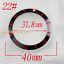 40mm-Red-Black-Blue-Green-Ceramic-Titanium-bezel-insert-fit-GMT-automatic-watch thumbnail 23