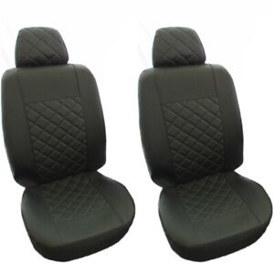 MERCEDES SPRINTER VAN UP 2006 UPHOLSTERY FABRIC UNIVERSAL FRONT SEAT COVERS