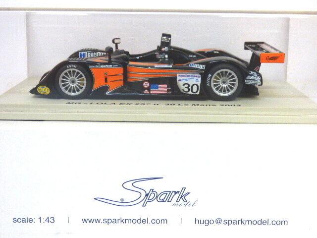 Spark Models MG Lola EXP 257 Le Mans 2002