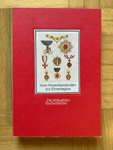 Vom Hosenbandorden zur Ehrenlegion  Reprint der Ausgabe von 1821 (TB 1980)