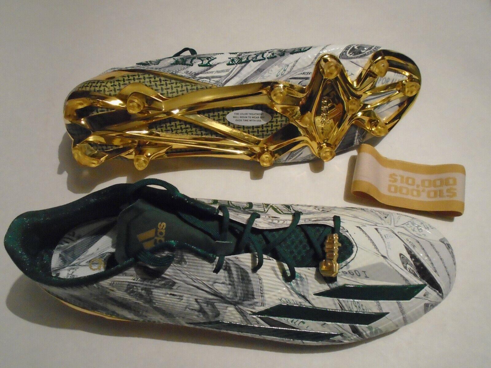 New Adidas Adizero 5.0 Snoop Dogg Gotta Hustle Size 16 Football Cleats D70177