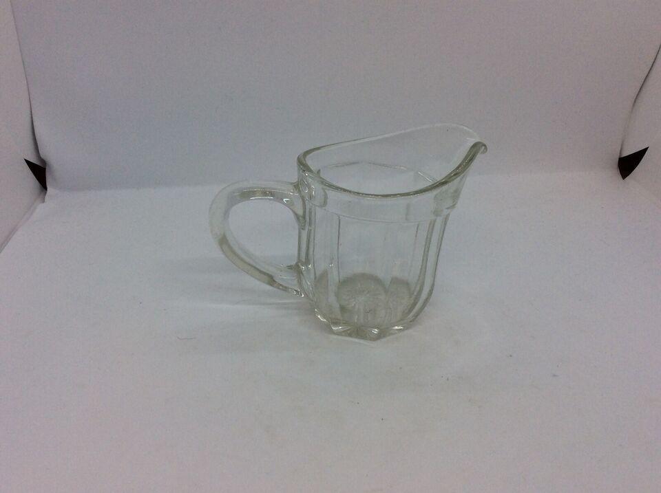 Glas, Flødekande – Klar glas , Fyens Glasværk