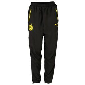 Details zu Puma BVB Leisure Pant Trainingshose Sporthose Jogginghose schwarz Herren S XXXL