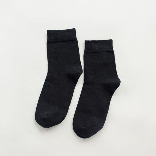 1Pairs Random color Men`s Women Ladies In cylinder Socks Cotton Plain