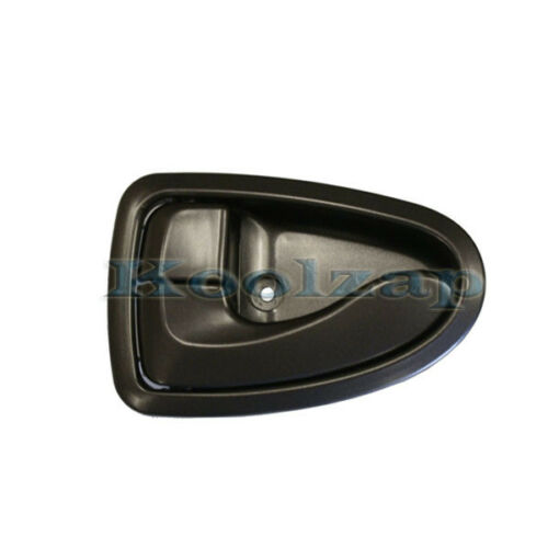 Front or Rear Black Inside Inner Door Handle Left Driver Side For 00-06 Accent