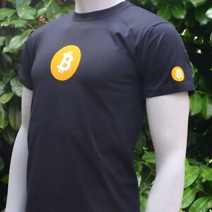 Bitcoin-BTC-Men-039-s-T-Shirt-Print-on-Front-Back-and-Both-Sleeves-Crypto