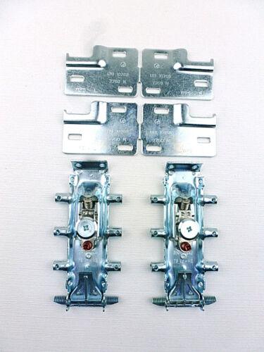 verdeckte Montage Libra H2  Stahl verzinkt 1  Set Schrankaufhänger