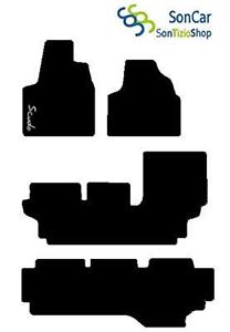 FIAT SCUDO 9 POSTI dal 2004 al 2007 TAPPETI tappetini su Misura con decoro