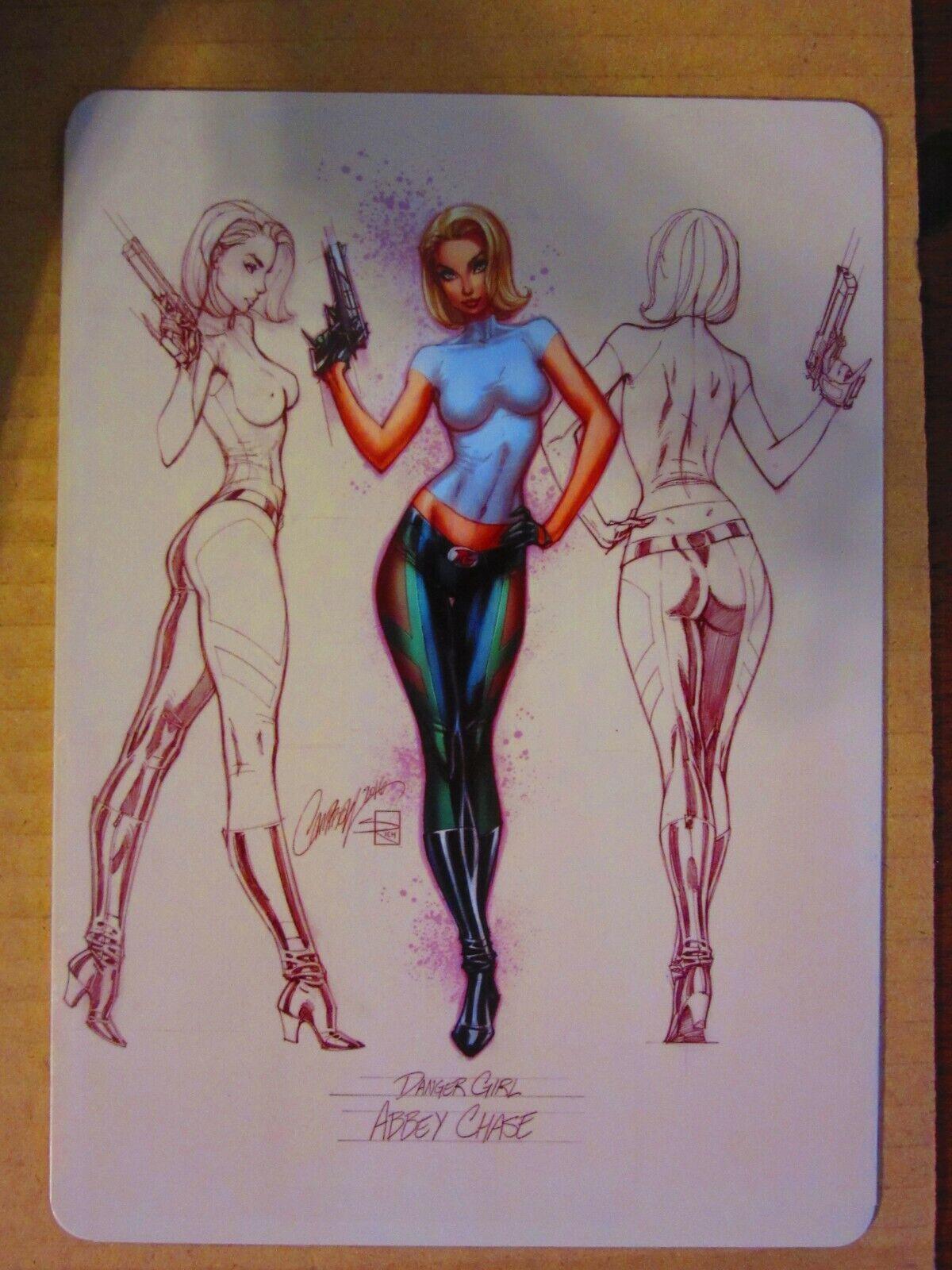 Sideshow Abbey Chase Premium Format Figure Figure Figure  Danger Girl  J Scott Campbell 49b99d