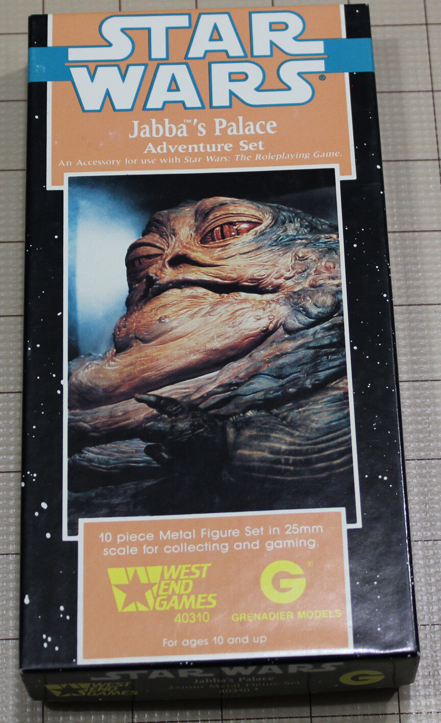 Grenadier Star Wars Miniatures for West End Games Jabba's Palace Boxset