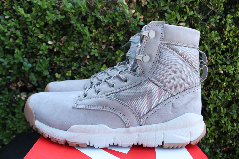 "NIKE SFB 6"" SPECIAL FIELD BOOT SZ 8.5 DUST GREY RIVER ROCK 862507 003"