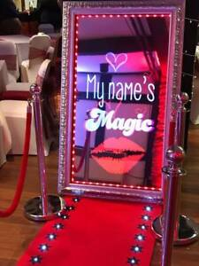 Details about Magic Selfie Mirror HIRE, 3 hrs, Wedding Christmas Party  Birthday Photo Booth