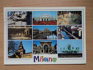 Italy-Postcard-Milano-photograph-by-Pronto-Service-Jolly-Postmarked-2002