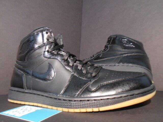 Nike Air Jordan I Retro 1 High OG BLACK GUM LIGHT BROWN GOLD BRED 555088-020 8