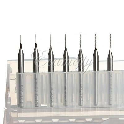 0.2mm to 0.5mm(set of 7cps) Drill Bits for 3D Printer Nozzle Cleaning Kit Reprap