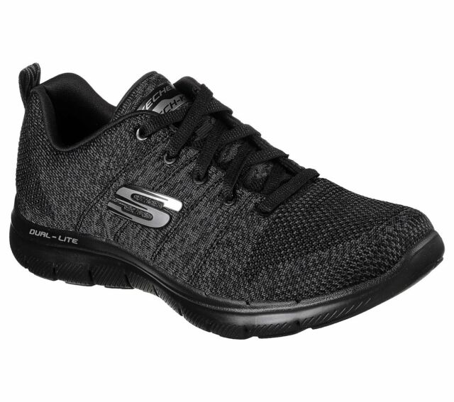Details about Skechers Flex Appeal 2.0 High Energy Trainers Womens Sports Memory Foam Shoes