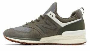 Details about NEW BALANCE WOMEN'S 574 SPORT MILITARY SZ 7 GREEN ANGORA WS574SFJ