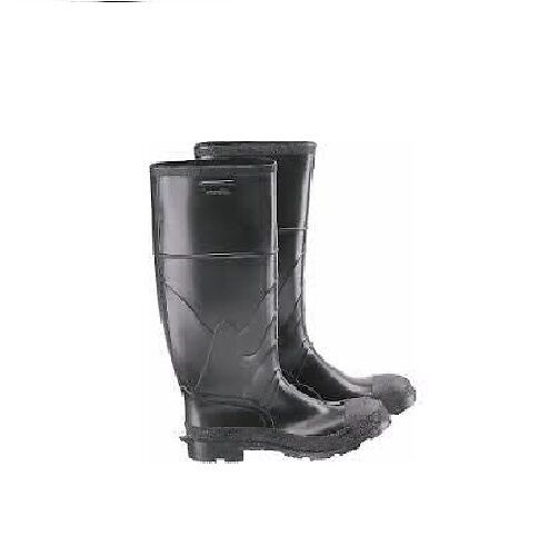 Mens Boots Black Premium Rubber Industrial Work Steel Toe Knee Boots Mens  Size 12 NEW 54a5af