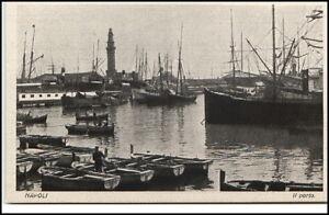 NAPOLI-Neapel-1910-20-Hafen-Schiffe-Boote-Il-Porto-AK