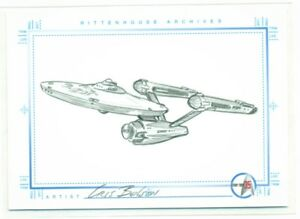 RITTENHOUSE-STAR-TREK-TOS-SKETCH-by-CRIS-BOLSON