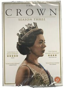 The-Crown-Season-Three-3-DVD-UK-Stock-New-amp-Sealed