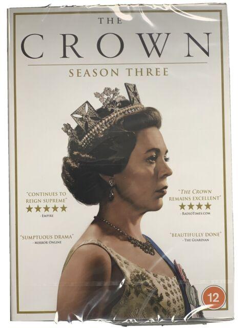 The Crown - Season Three (3) - DVD - UK Stock - New & Sealed
