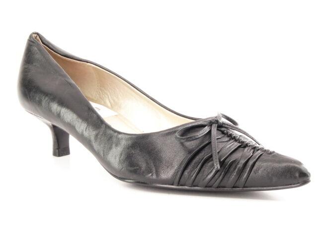 New CHINESE LAUNDRY Damens Leder Kitten Heel Pump Slip On 8 Pointy Toe Schuhe Sz 8 On 0faf68