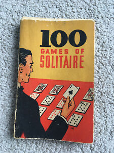 100-GAMES-OF-SOLITAIRE-1939-Whitman-book-of-card-games-HELEN-COOP-vtg-antique