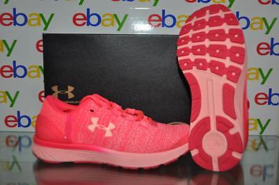 Under Armour Grade School Girls Rapid Running Shoes 3019885 600 Pink NIB