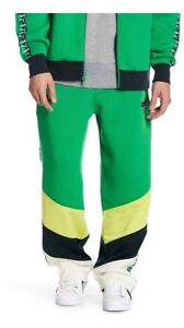 153c034846dcf Details about FENTY PUMA By Rihanna Blocked + Taped Track Pants men's size  L Green NEW $190