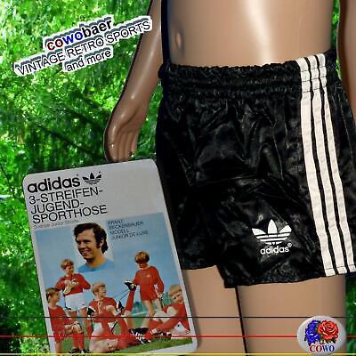 140 Adidas Vintage Beckenbauer Glanz Sporthose Shorts Kids