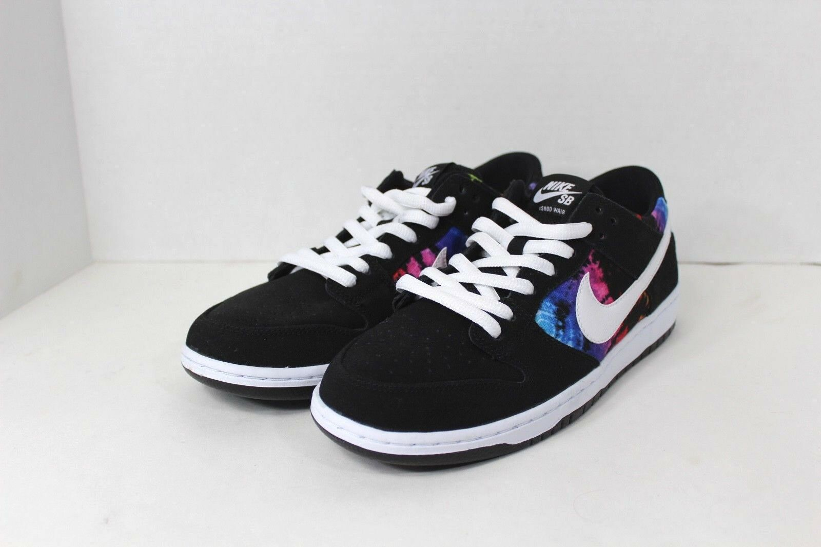 New No Box NIKE Mens Size 11 SB Dunk Low Ishod Weir Pride LGBT Rainbow Shoes