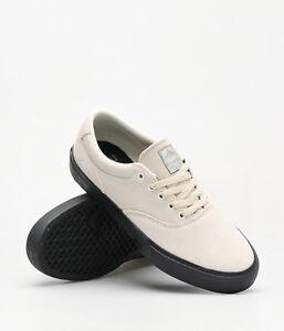Emerica-Shoes-Provost-Slim-Vulc-White-Black-USA-SIZE-Skateboard-Sneakers