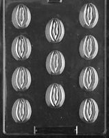 Bite Size Lady Vaginas - Chocolate & Soap Mold - Xx524