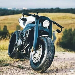 Motorcycle Bikes 7 8 Rearview Bar End Custom Mirrors For Honda Cbr Cafe Racer Ebay